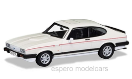 Ford Capri III 2.8i Special 1987 RHD weiss / Decor