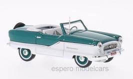 Nash Metropolitan Convertible 1954-1962 türkis / weiss