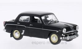 Moskwitsch 407 Limousine 1956-1965 schwarz