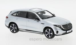 Mercedes-Benz EQC 400 4 Matic N293 seit 2019 silber met.
