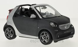 Smart Fortow Cabriolet A453 seit 2016 matt-dunkelgrau / silber / Softtop inkl.
