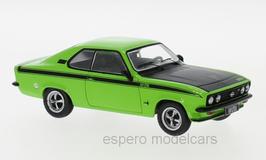 Opel Manta A GT/E 1974-1975 hellgrün / matt-schwarz