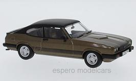 Ford Capri III 3.0S 1978-1981 RHD braun met. / matt-schwarz