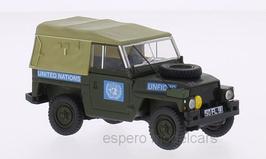 "Land Rover 1/2 Ton Lightweight 1965-1985 RHD ""United Nations / UN"" dunkelgrün / beige"