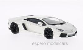 Lamborghini Aventador LP 700-4 ab 2011 weiss met. 1:43