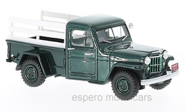 Jeep Willys Pick Up Truck Phase III 1954-1962 dunkelgrün met. / weiss