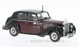 Rolls Royce Silver Dawn 1949-1955 RHD dunkelrot / schwarz