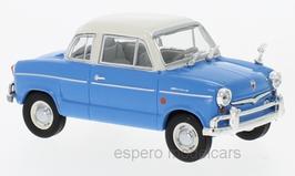 NSU Prinz 30E 1959-1960 blau / weiss