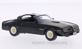 Pontiac Firebird II Trans Am Phase III 1977-1979 schwarz