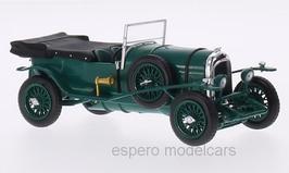 Bentley 3 Litre 1921-1929 RHD dunkelgrün / schwarz