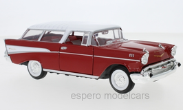 Chevrolet Nomad 1957 rot / weiss