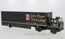 "Volvo F88 LKW Sattelschlepper 1965-1977 ""John Player Team Lotus schwarz / gold"""