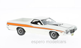 Ford Ranchero GT Pick Up 1972 weiss / orange
