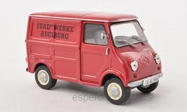 "Glas Goggmobil TL250 1957-1965 ""Stadtwerke Augsburg"" dunkelrot"