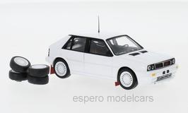 Lancia Delta HF Integrale 16V Plain Body Version 1989 weiss / inkl. Zusatzteile