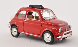 Fiat 500 L 1965-1975 rot