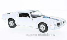 Pontiac Firebird TransAm II 1970-1974 weiss / blau