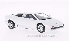 Lamborghini P140 1987 Concept Car weiss