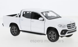 Mercedes-Benz X-Klasse 470 Pick Up / Doka 2018-2020 weiss