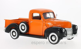 Ford Pick Up 1940 orange / matt-schwarz