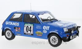 Renault 5 Alpine #4 Gitanes Rallye Bandama 1978 J. Ragnotti / J-M. Andrie