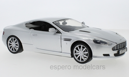 Aston Martin DB9 Coupé Phase I 2004-2008 silber met.