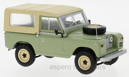 Land Rover 88 Series II 1958-1971 hell grün / beige