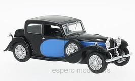 Bugatti 57 Galibier 1939 blau / schwarz