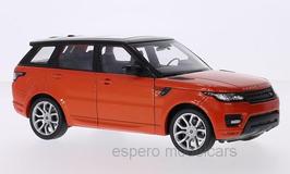 Range Rover Sport II seit 2013 dunkelorange met. / schwarz