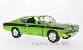Plymouth Barracuda 1967-1969 hellgrün / schwarz