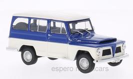 Jeep Willys Rural 1960-1972 Brasil blau / weiss