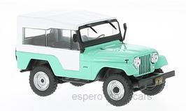 Jeep CJ-5 1954-1983 türkis / weiss