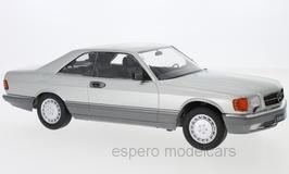 Mercedes-Benz 560 SEC C126 Phase II 1985-1991 silber met.