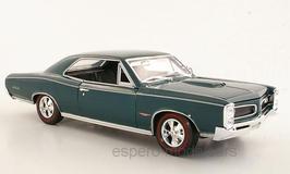 Pontiac GTO 1966 dunkelgrün met.