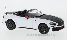 Fiat Abarth 124 Spider seit 2016 weiss / matt-schwarz