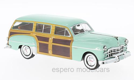 Dodge Coronet Woody Wagon 1949-1954 hellgrün / Holzoptik