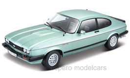 Ford Capri III 2.8 Injection 1982-1986 hellgrün met.