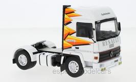 Renault R370 Turboleader LKW Zugmaschine 1984-1986 weiss / gelb / orange