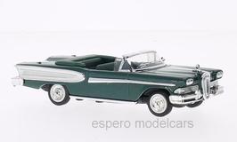 Edsel Citation Convertible 1958 dunkelgrün met. / weiss