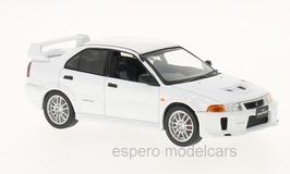 Mitsubishi Lancer Evo V 1998 RHD weiss