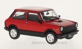 Autobianchi A112 Abarth Phase V 1979-1983 rot / schwarz