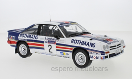 Opel Manta B 400 #2 Rothmans Rally Team RAC Rallye 1983 H. Toivonen / F. Gallagher