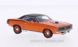 Plymouth Cuda 426 HEMI 1970 orange /matt-schwarz