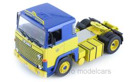 """Scania LBT 141 Zugfahrzeug 1976-1981 """"ASG"""" blau / gelb"""