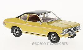Vauxhall Firenza Sport SL 1970-1975 RHD gelb / schwarz