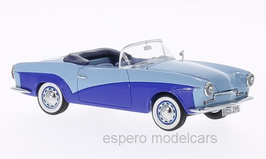 Rometsch Lawrance Cabriolet 1957-1961 blau / hellblau