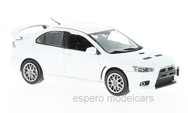 Mitsubishi Lancer Evo X Final Edition 2016 weiss met.