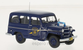 "Jeep Willys Station Wagon 1954-1964 ""Michigan State Police dunkelblau gelb"