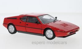 BMW M1 1978-1981 rot / schwarz