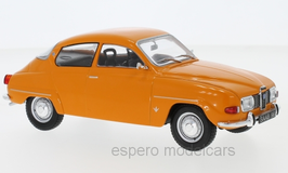 Saab 96 V4 Limousine 1969-1974 orange
